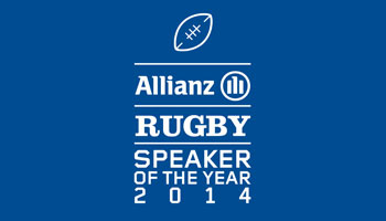 WIN Allianz Rugby Speaker of the Year 2014 tickets