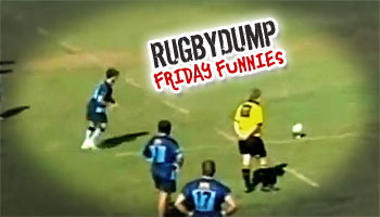 Friday Funnies - Incredible winning try scored off multiple post rebounds