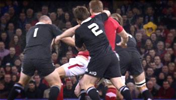 Andrew Hore cited for off the ball stiffarm on Bradley Davies