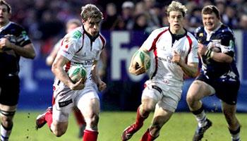 Andrew Trimble's brilliant individual try against Bath