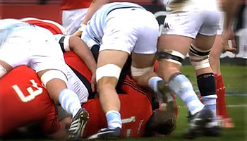 Antoine Battut cited after straight red card for knee against Munster