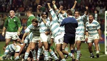Argentina beat Ireland - WC 99