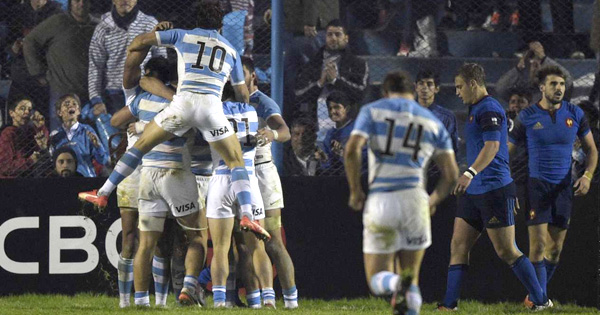 France slip in rankings as Argentina lock scores great try in Tucuman