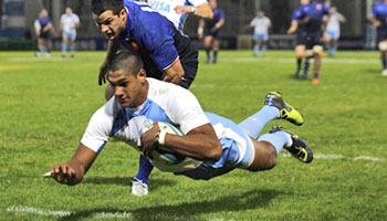 Argentina snatch victory from France with late try in Cordoba