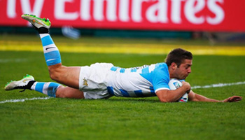 Argentina demolish Georgia with strong second half showing at Kingsholm
