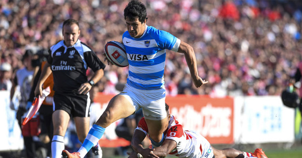 Argentina score some lovely tries as they beat Japan in Tokyo