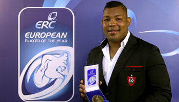 Steffon Armitage named European Player of the Year 2014