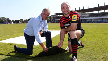 Saracens all set for Allianz Park debut on new artificial pitch