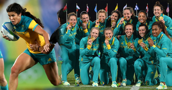 Australia's Women claim historic Gold Medal at the Rio Olympics