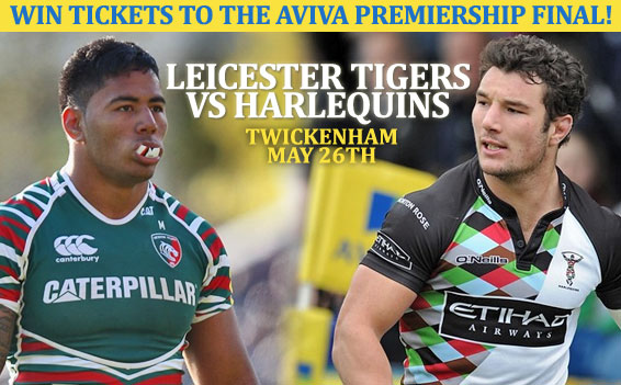 WIN tickets to the Aviva Premiership Rugby Final 2012!