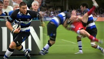 Matt Banahan launches into James Simpson-Daniel