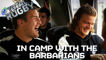 Behind the scenes with Nick Cummins and the Barbarians