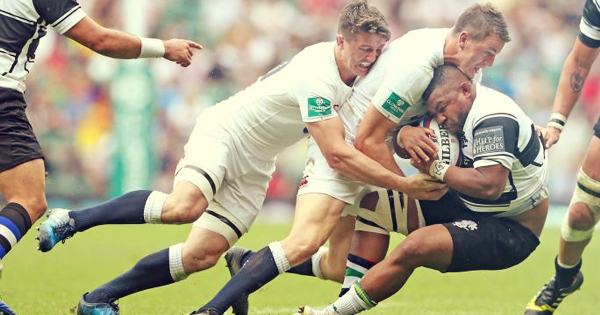England's young guns defeat Barbarians at Twickenham