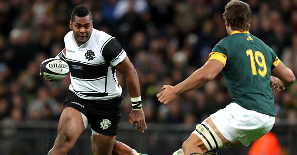 Barbarians and South Africa draw in entertaining Wembley fixture