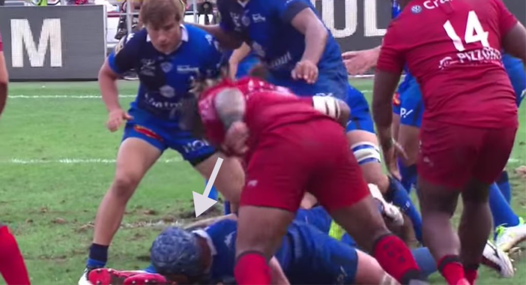 Bastareaud ban viewed as light after he deliberately struck a player on the back of the head