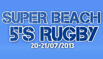 Super Beach 5's Rugby in Lignano, Italy - Live streamed on Rugbydump