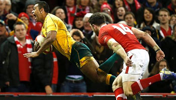 Kurtley Beale late try snatches win for Wallabies over Wales