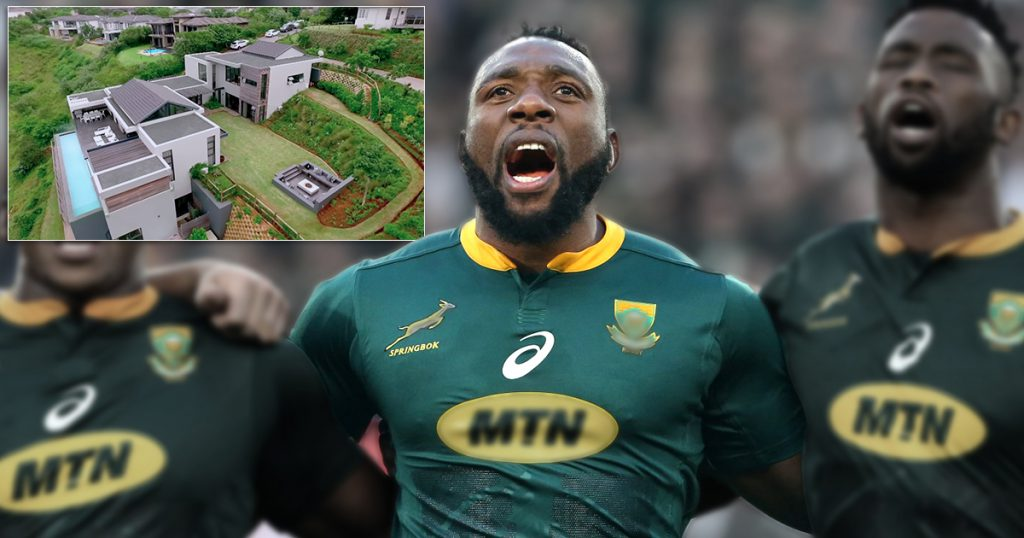 Beast Mtawarira on his 100th Test and exclusive tour of his triple story home