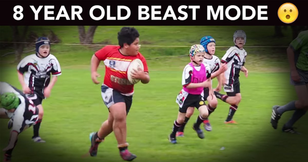 U9 kid goes into BEAST MODE and nobody can do a thing about it!