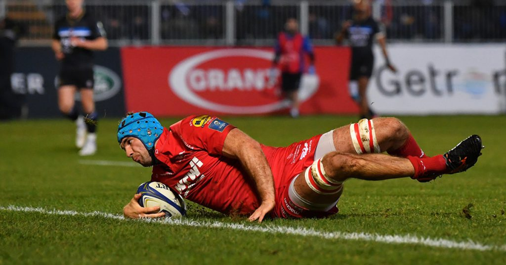 Tadhg Beirne scoops Try of the Season award for this brilliant finish