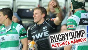Midweek Madness - Ben John scores a bizarre Ospreys try