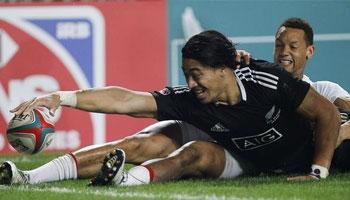 New Zealand beat England to win the 2014 Hong Kong Sevens