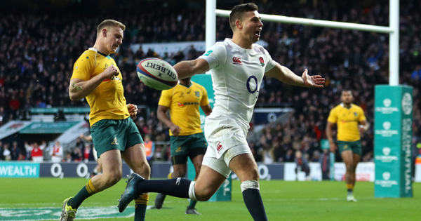 Extended highlights of England's fourth victory over the Wallabies this year