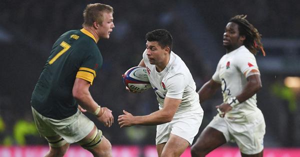 England break their Springboks hoodoo with convincing win at Twickenham