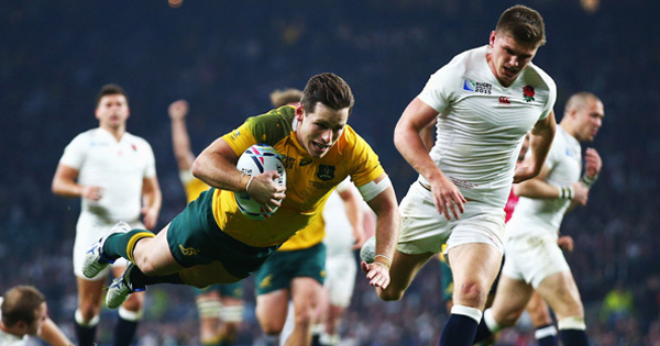 England knocked out of home World Cup by outstanding Wallabies