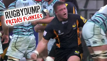 Friday Funnies - Possibly the best scrum celebration ever