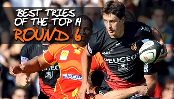 Best tries of the Top 14 - Round 6