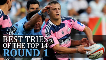 Best Tries of the Top 14 - Round 1 - 2012
