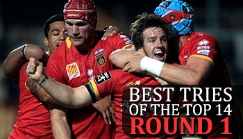 Best Tries in the Top 14 2013/2014 - Round 1