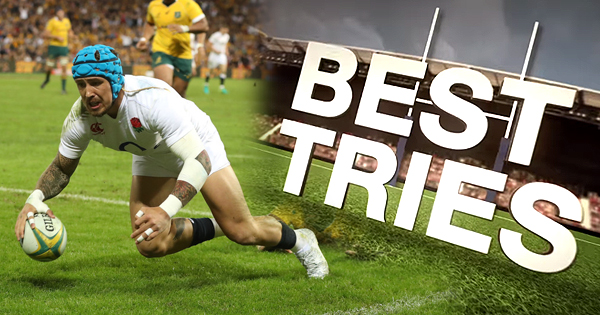 16 of the best tries from the June Internationals