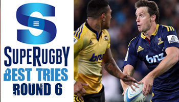 The Best Tries scored in Round 6 of Super Rugby 2014