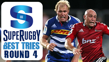 The Best Tries scored in Round 4 of Super Rugby 2014