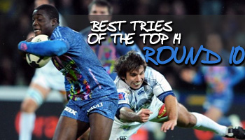 Best tries of the Top 14 - Round 10