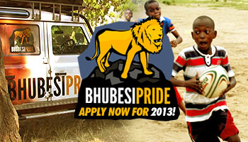 Bhubesi Pride complete their African coaching initiative, start planning for 2013
