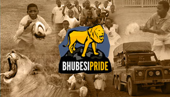 Join Bhubesi Pride's charitable rugby coaching adventure in Africa