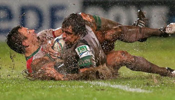 Biarritz beat Connacht in drenched conditions at the Parc des Sports Aguilera