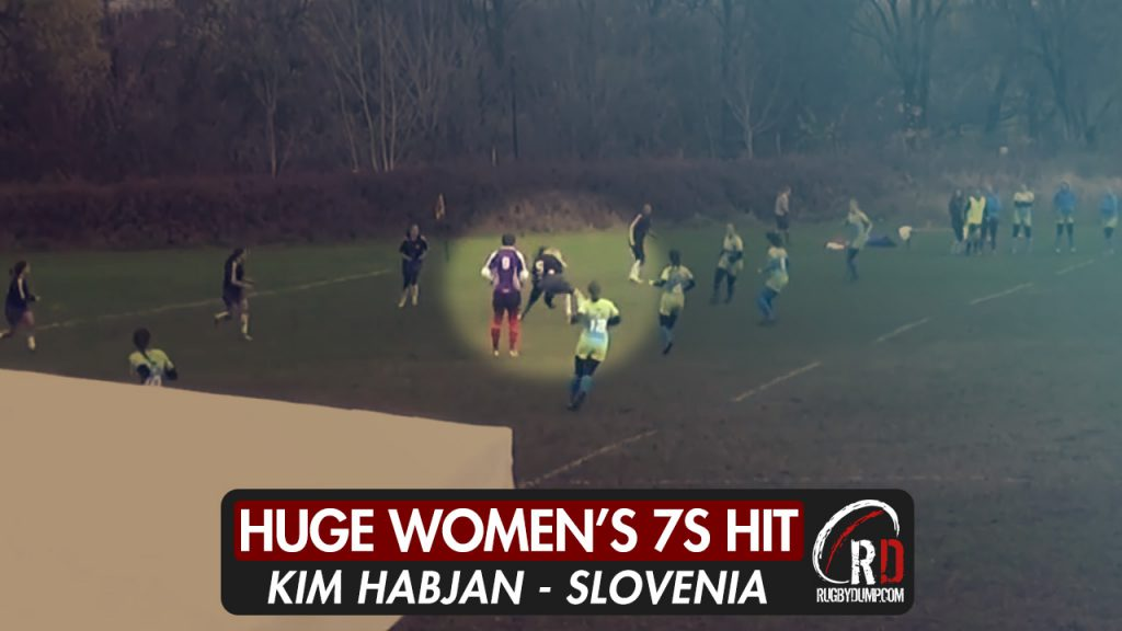 Huge hit leads to try in Women's 7s tournament in Slovenia