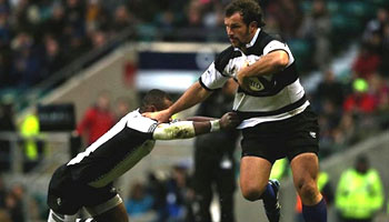 The Barbarians sweep aside Fiji in entertaining fixture at Twickenham