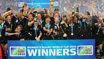 New Zealand win the Women's World Cup final