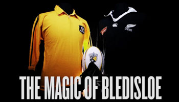 The Magic Of Bledisloe, featuring the George Gregan miracle tackle in 1994