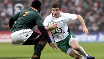 Ireland beat South Africa at Croke Park in Dublin