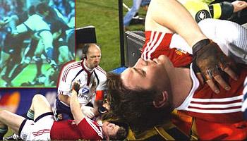 Brian O'Driscoll spear tackled in 2005