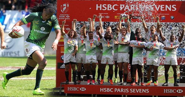 South Africa are World Sevens Series champions after tournament win in Paris
