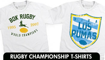 New Supporters T-Shirts for the Rugby Championship