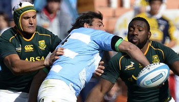 Springboks scrape through tough second Test with Argentina in Mendoza