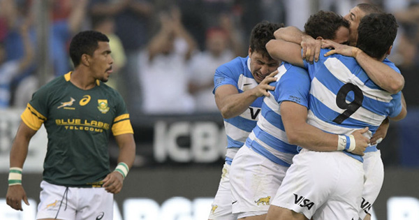 Los Pumas beat Springboks in Argentina for first time ever